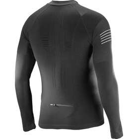Salomon Exo Motion Half Zip LS Tee Men Black